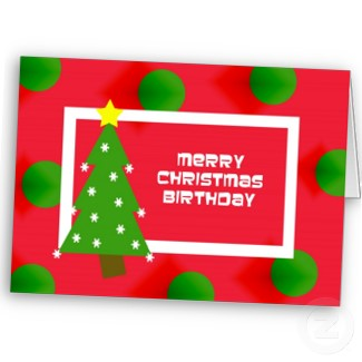 christmas birthday cards quotes - Birthday On Christmas